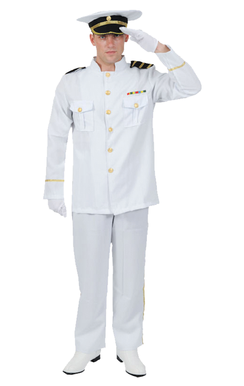 Adult Naval Officer Costume