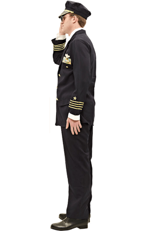 Adult Pilot Uniform Costume