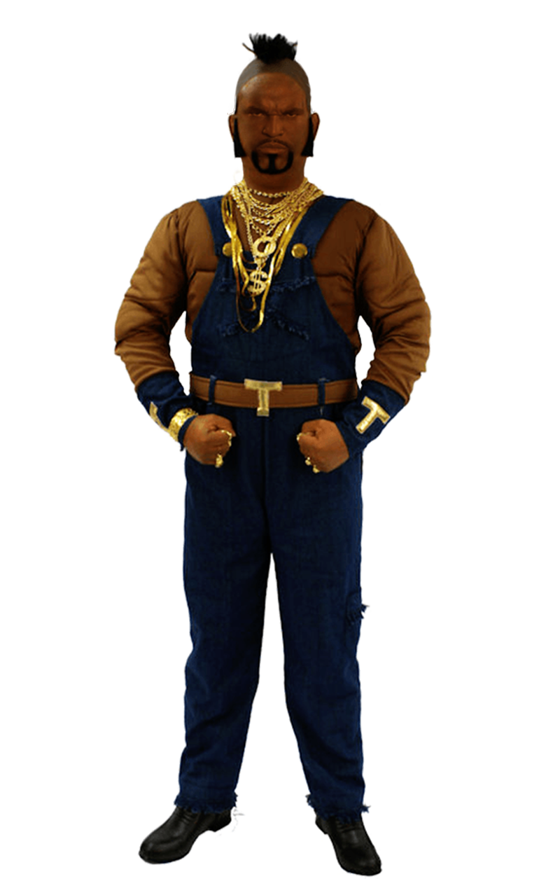 Adult The A Team Mr T Costume