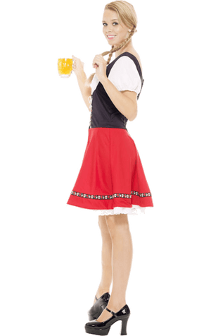 Red Oktoberfest Bavarian Costume