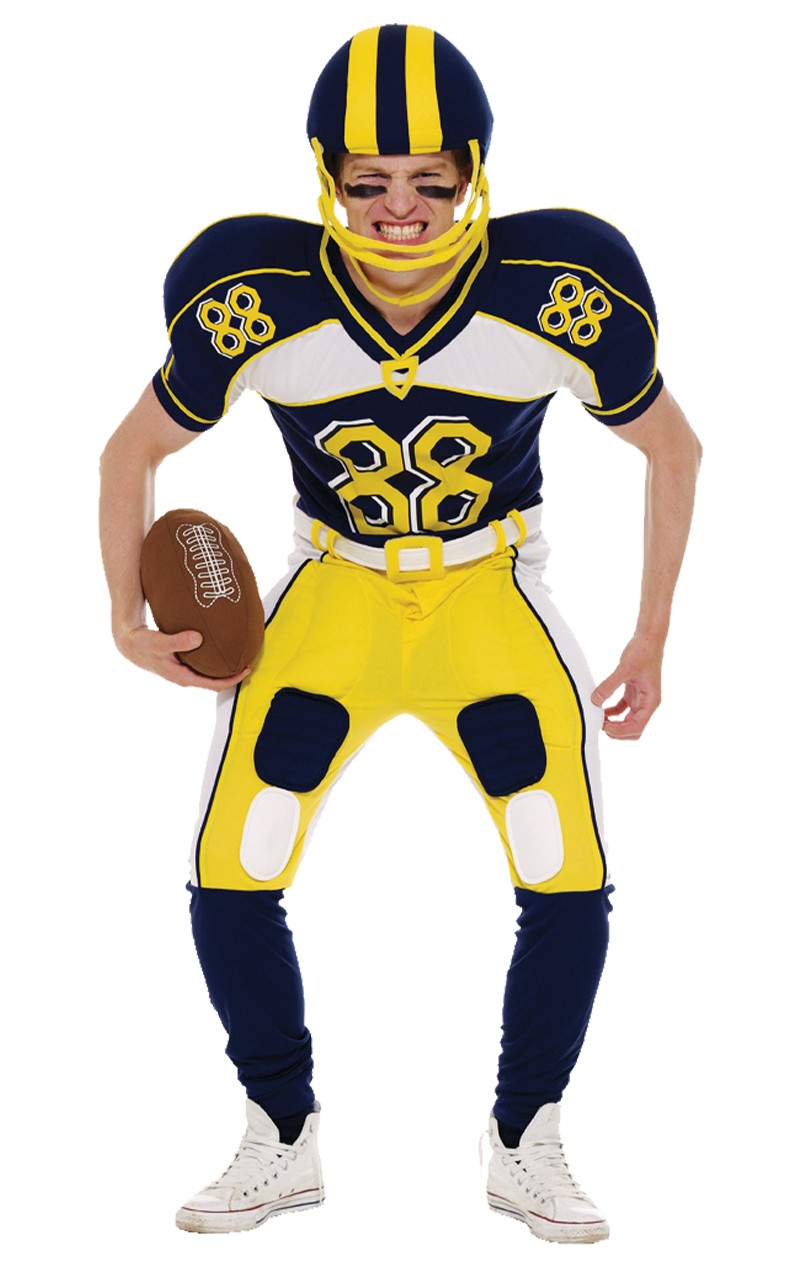 Adult American Football Costume