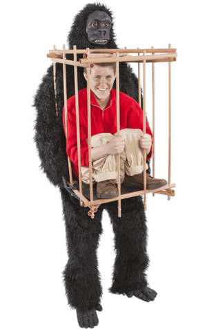 Gorilla Cage Capture Costume