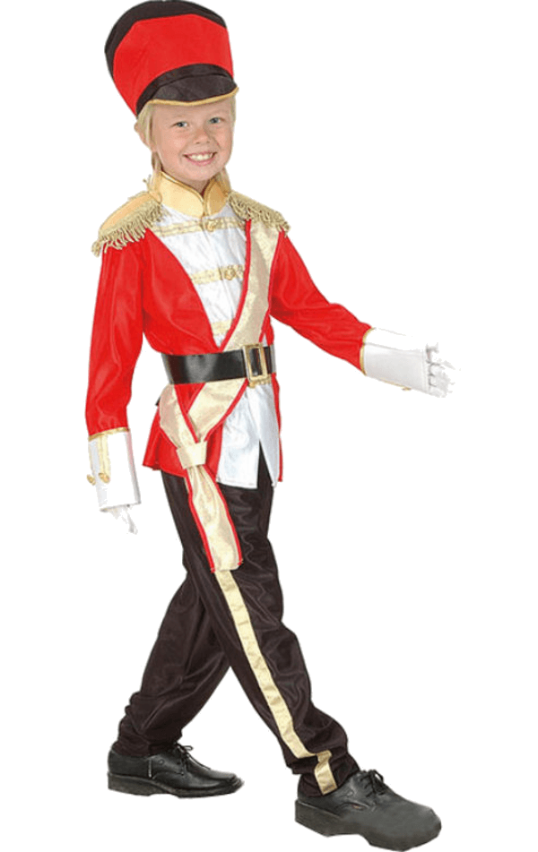 Kids Unisex Toy Soldier Costume