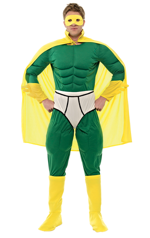 Adult Captain Y-Fronts Costume
