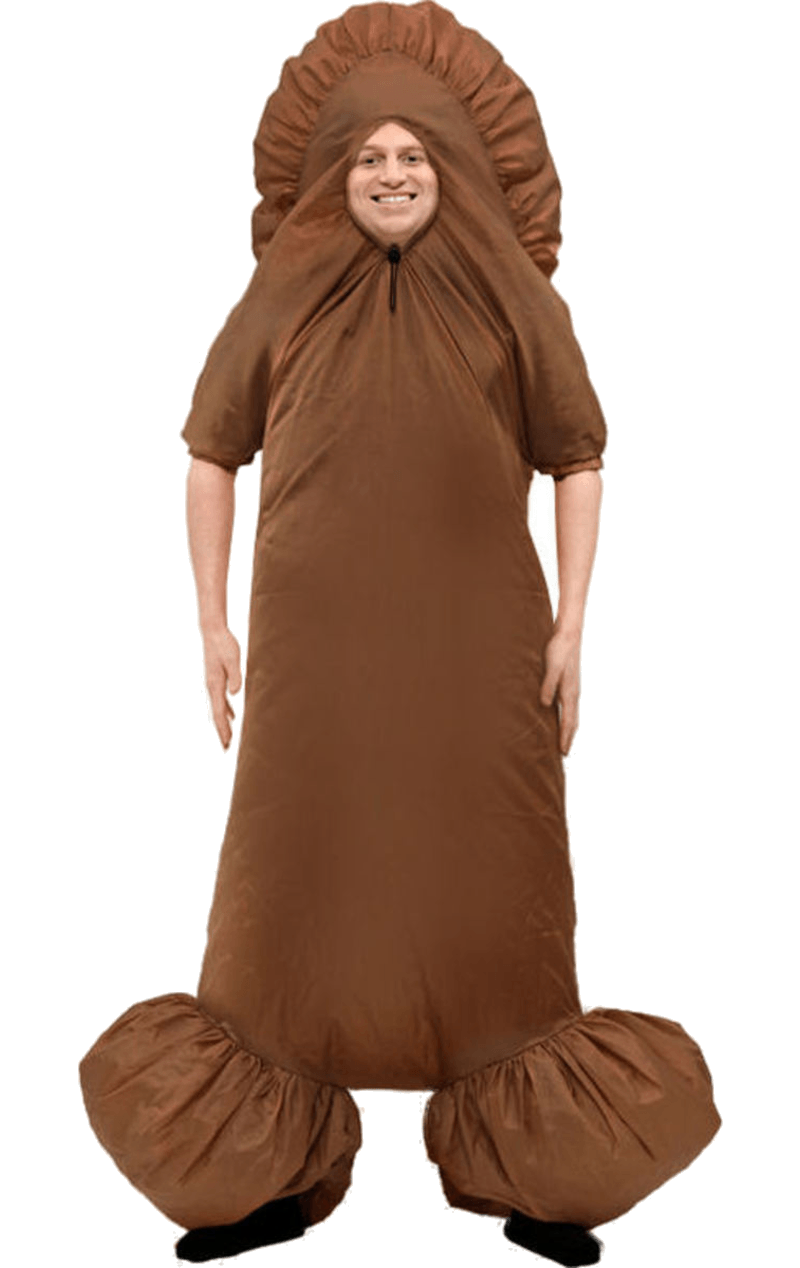 Inflatable King Ding Penis Costume