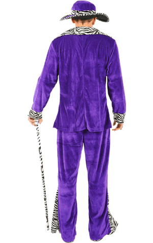 Adult Purple Pimp Costume