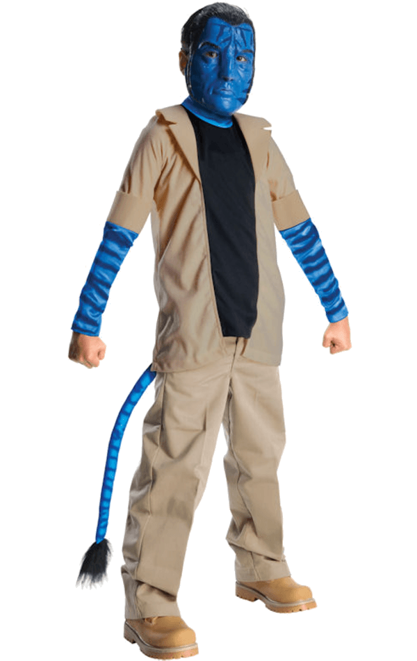 Kids Jake Sully Avatar Costume