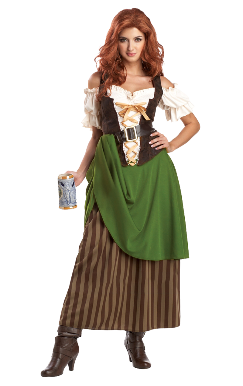 Ladies Tavern Maiden Costume