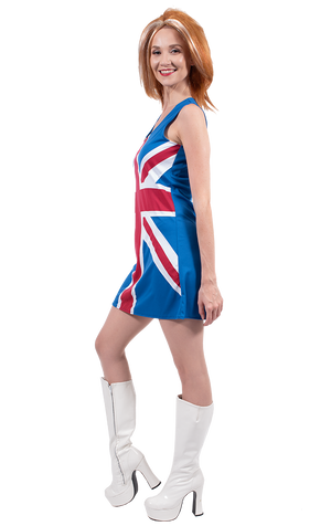 Union Jack Spice Girl Costume