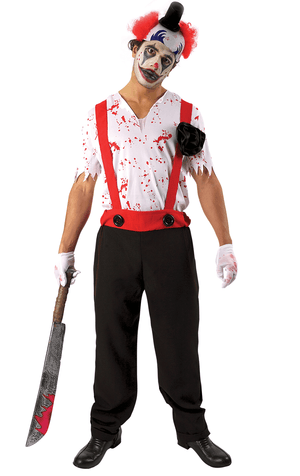 Adult Bloody Clown Costume