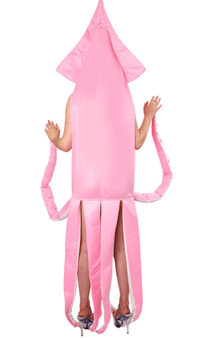 Adult Pink Squid Animal Costume
