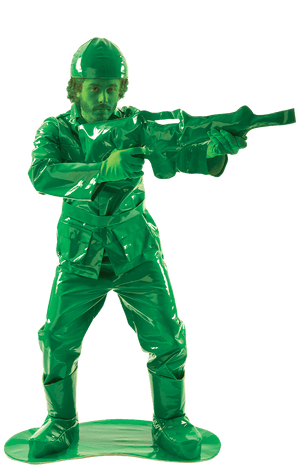 Adult Toy Army Man Costume