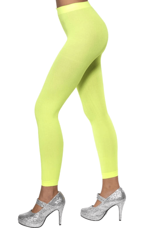 Green Footless Tights