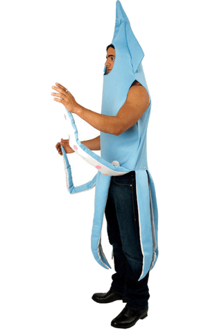 Adult Blue Squid Animal Costume