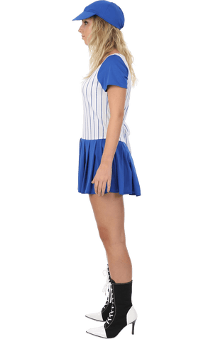 Ladies Baseball Girl Costume