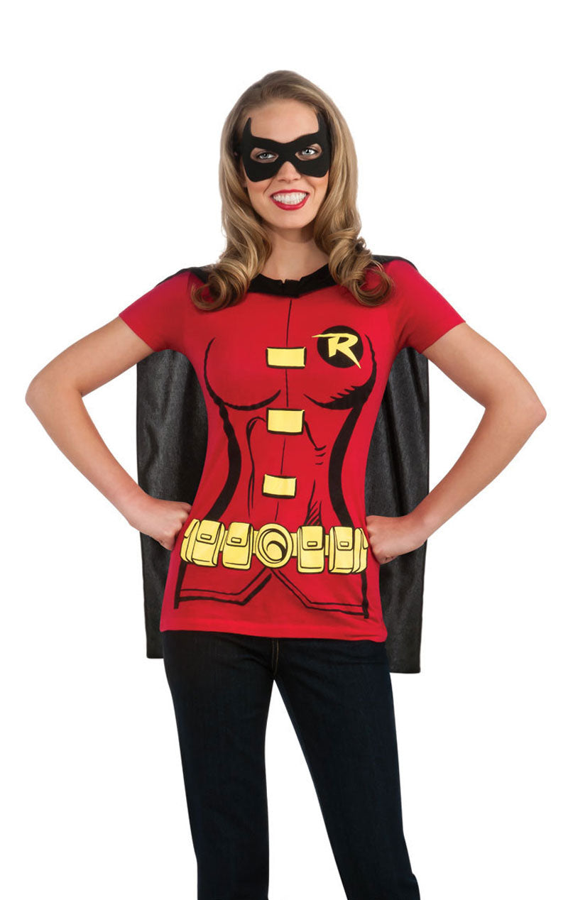 Caped Robin T-Shirt