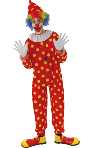 Bobbles The Clown Outfit