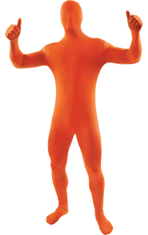 Adult Second Skin Suit Orange