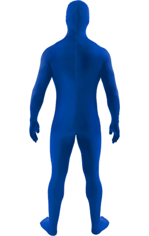 Adult Second Skin Suit Blue