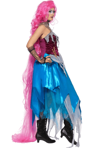 Halloween Ripped Rapunzel Costume