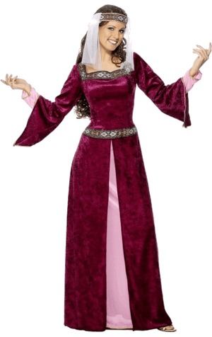 Red Maid Marion Costume