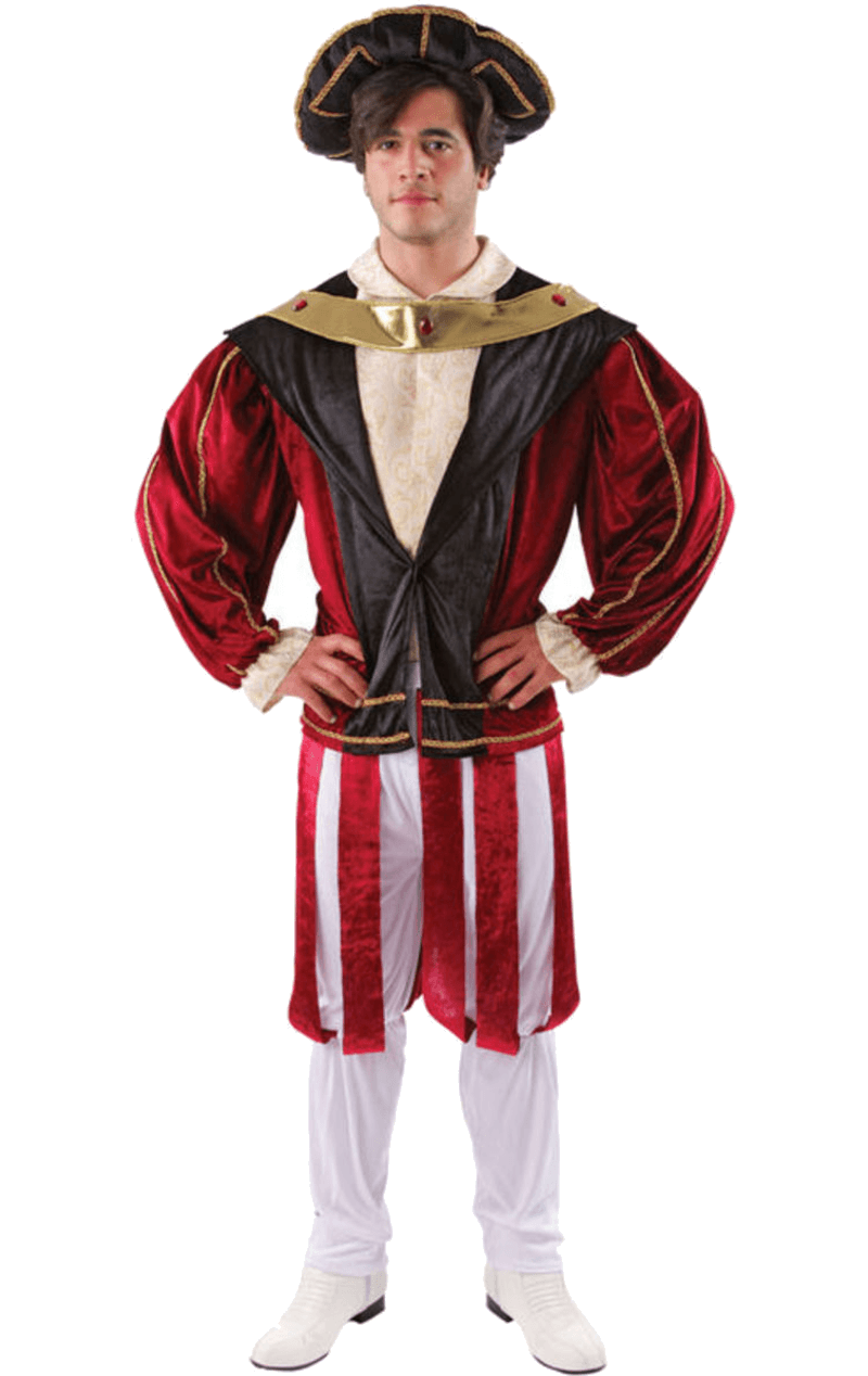 Adult King Henry VIII Tudor Costume