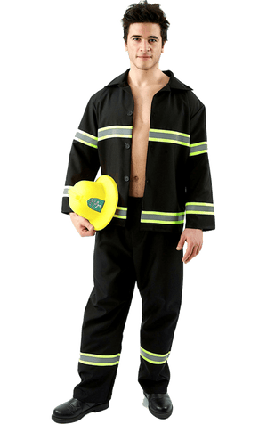 Adult Fire Hunk Costume