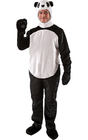 Adult Fluffy Panda Costume