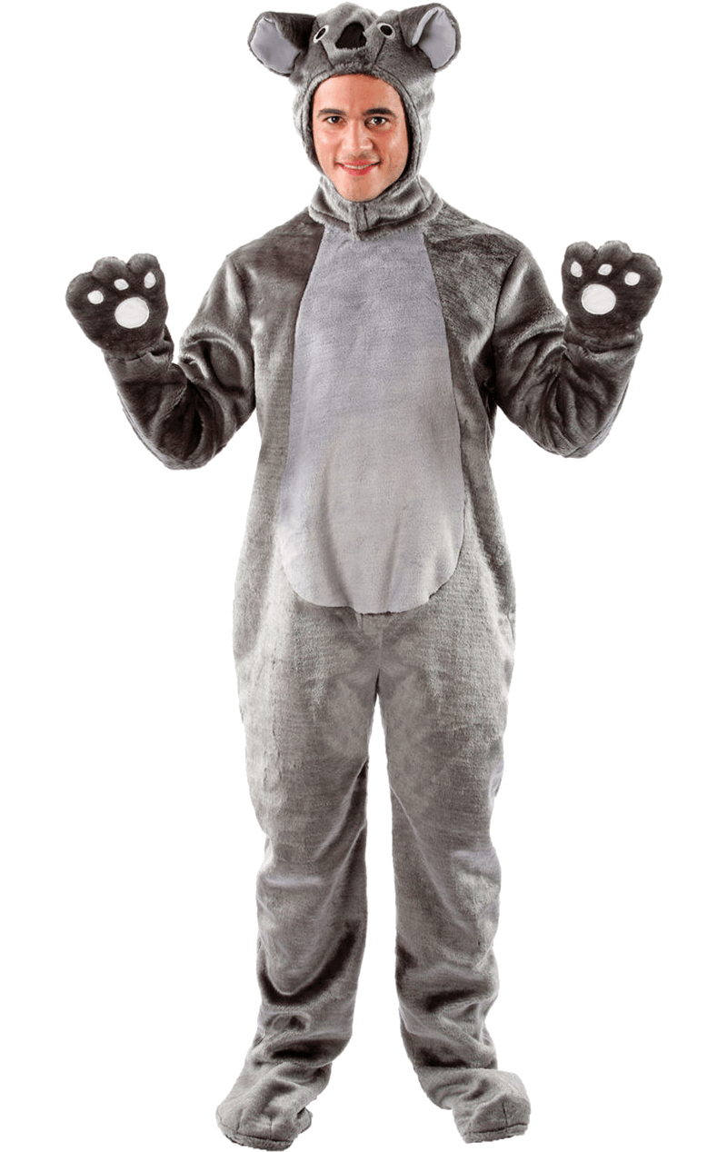 Adult Fluffy Koala Bear Costume