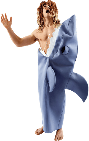 Deluxe Shark Victim Costume