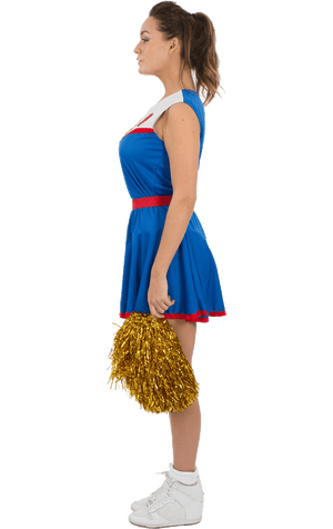 Adult USA Cheerleader Costume