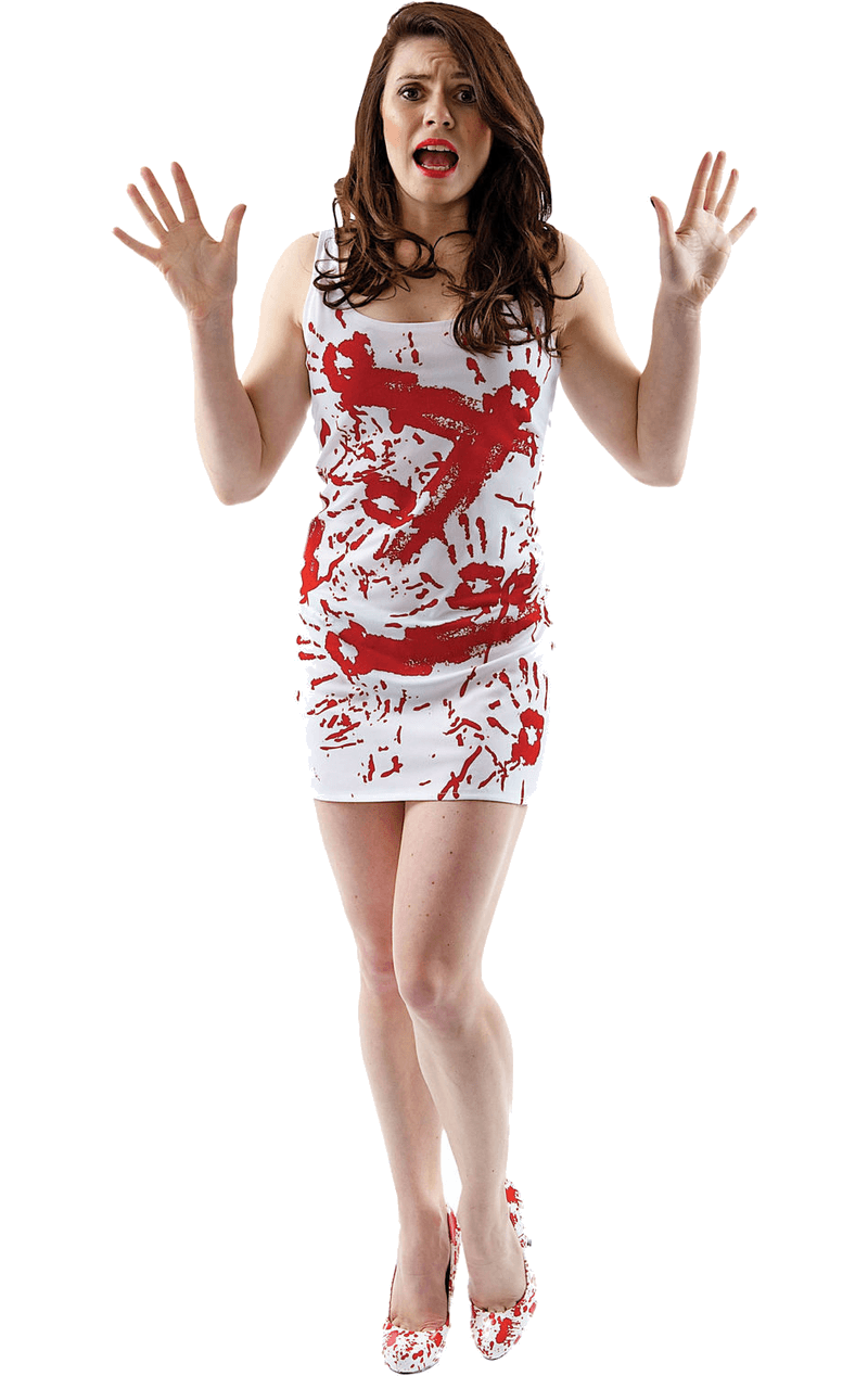Womens Blood Stained Dress