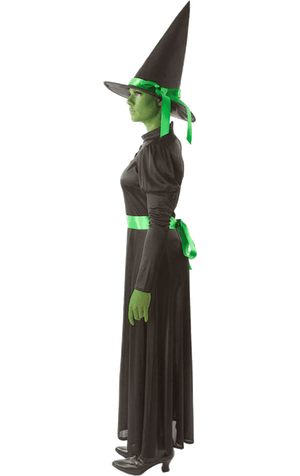 Wicked Green West Witch Costume
