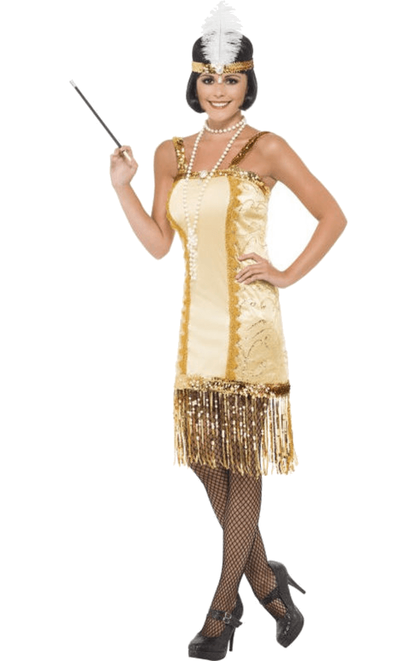 Golden Flapper Costume
