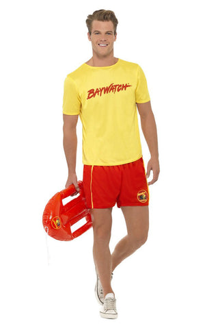 Mens Baywatch Tee Costume
