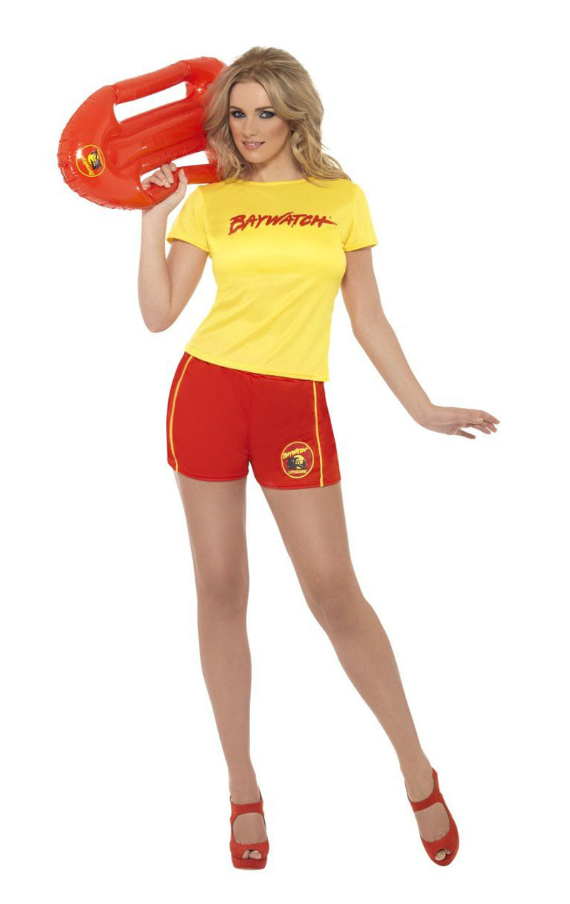 Womens Baywatch Tee Costume