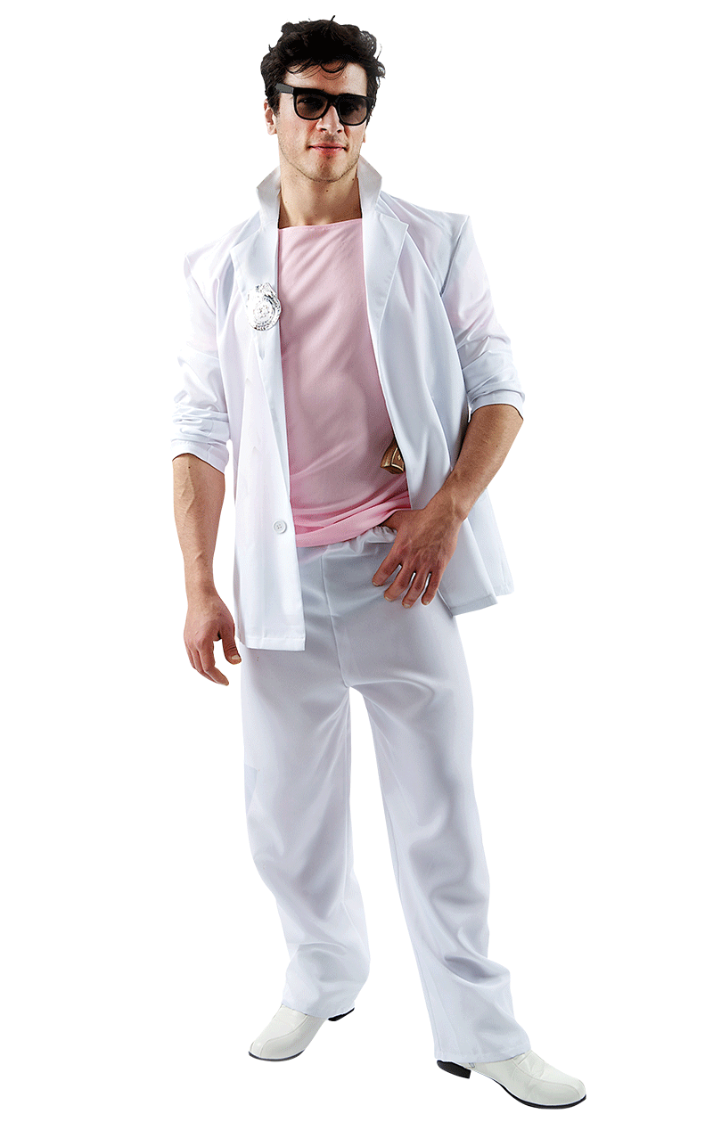Adult Miami Vice James Costume