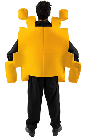 Yellow Space Invader Costume