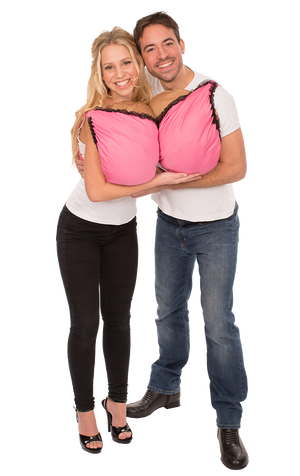 Boob Bra Couples Costume