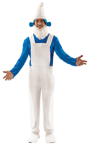 Blue Gnome Fancy Dress Costume
