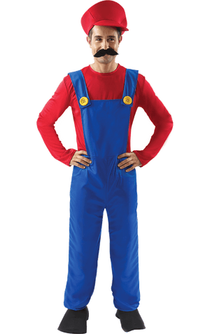 Men's Super Mario Costume