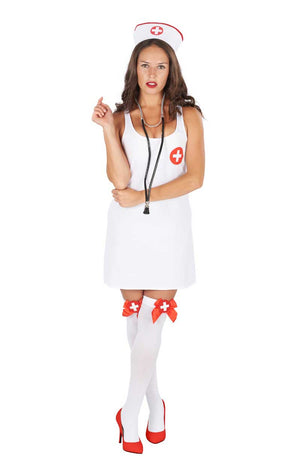 Ladies Nurse Nora Costume