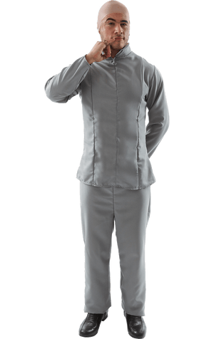 Adult Dr Evil Movie Costume
