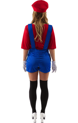 Womens Super Mario Costume
