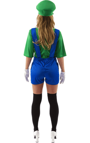 Adult Womens Luigi Costume