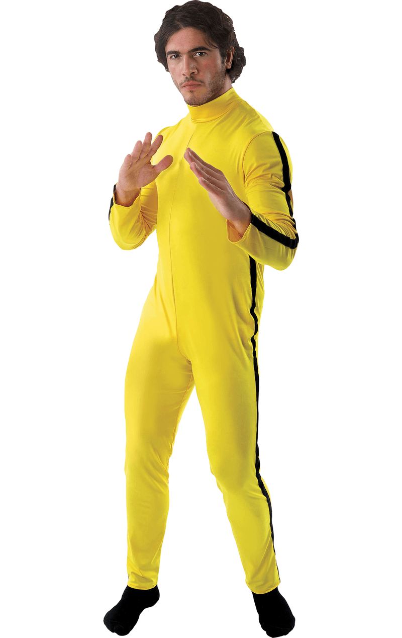 Adult Bruce Lee and Kill Bill Costume