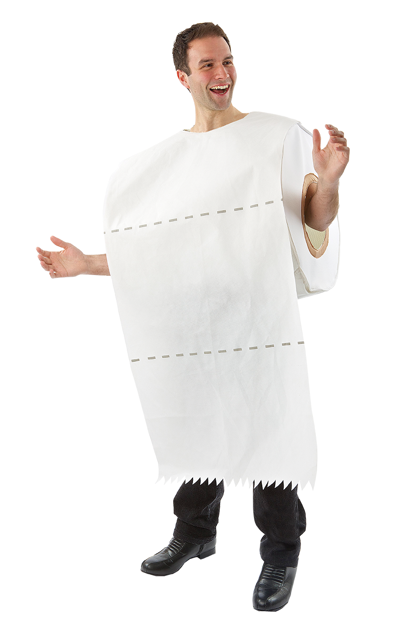 Novelty Toilet Roll Costume