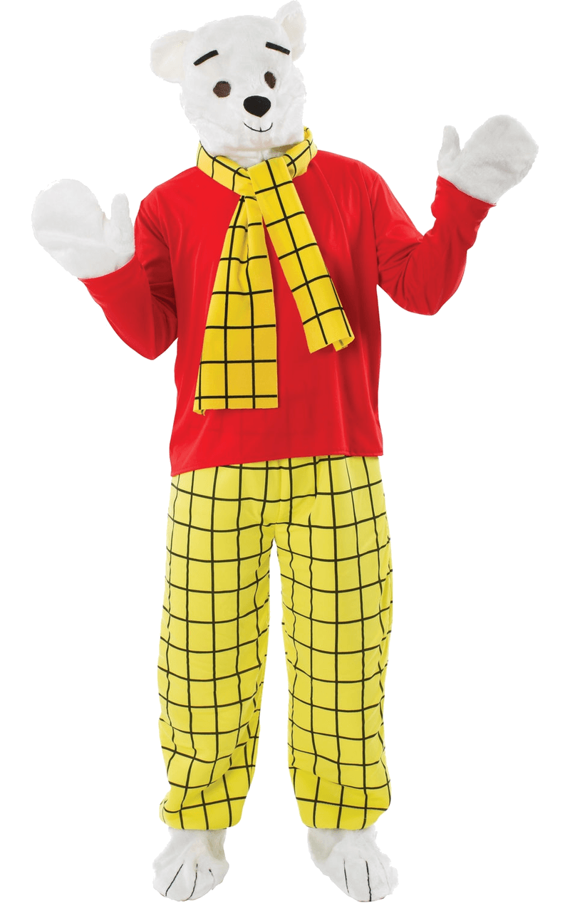 Adult Rupert Bear Costume