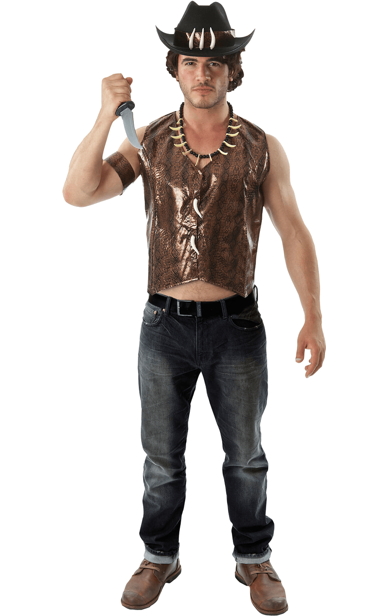 Adult Crocodile Dundee Movie Costume