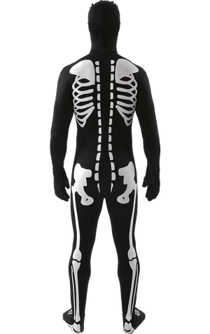 Adult Skeleton SkinSuit Costume